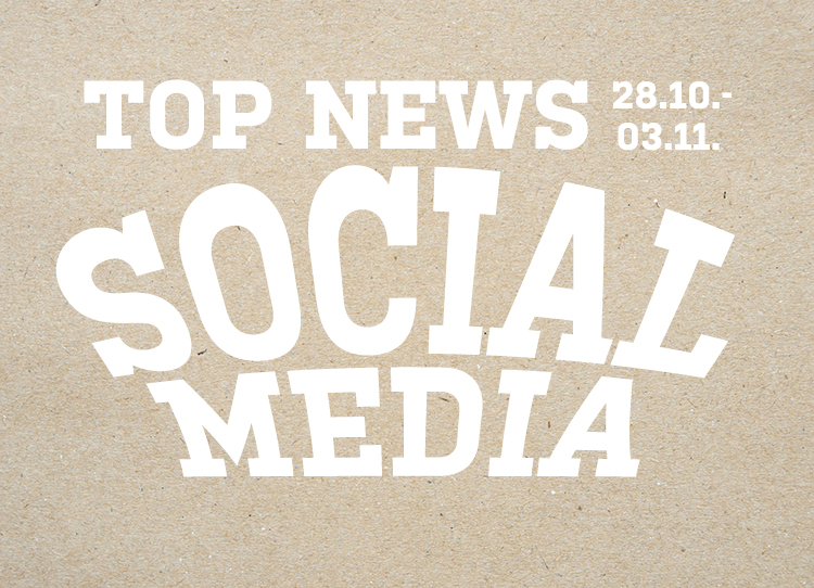 Dienstags stellt Socialgastro die Top News aus dem Bereich Social Media Vor!