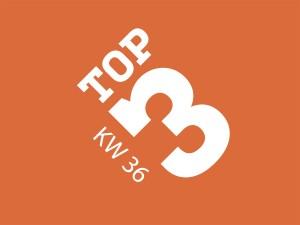 Kw 36 Top 3 Themen vorgestellt von Socialgastro. Socialgastro betreut Restaurants und Bars.